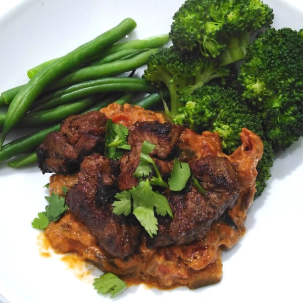 Image ofLamb Steak with Middle Eastern Rub