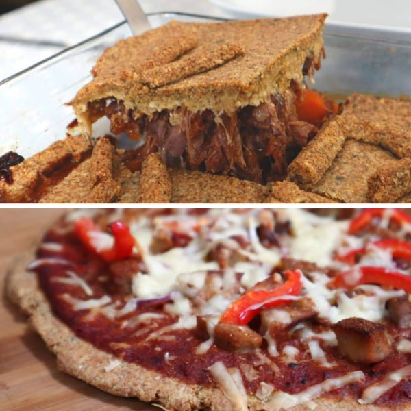 Image of Linseed Pizza / Pie Dough