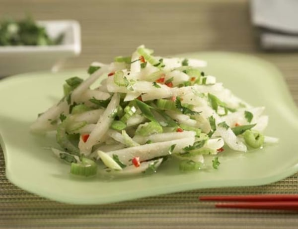 Image ofAsian Pear Slaw with Red Fresno Pepper