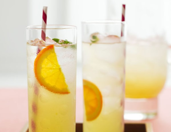 Image ofIced Green Tea Dazzler with Orange and Ginger