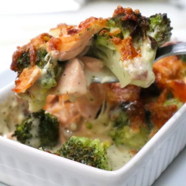 Image of Salmon & Broccoli Bake