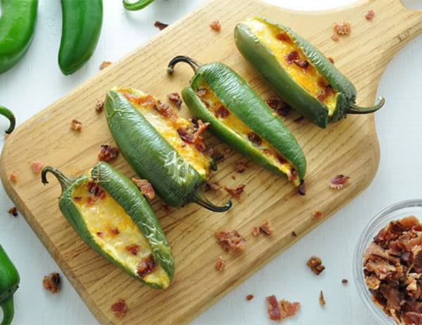Image of Jalapeno Poppers with Bacon