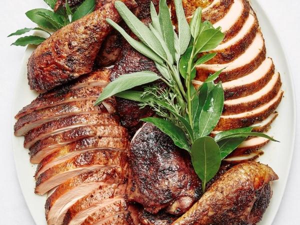 Spiced and Glazed Roast Turkey