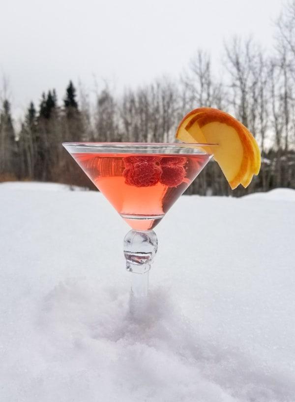 Image of Berry Christmas Martini