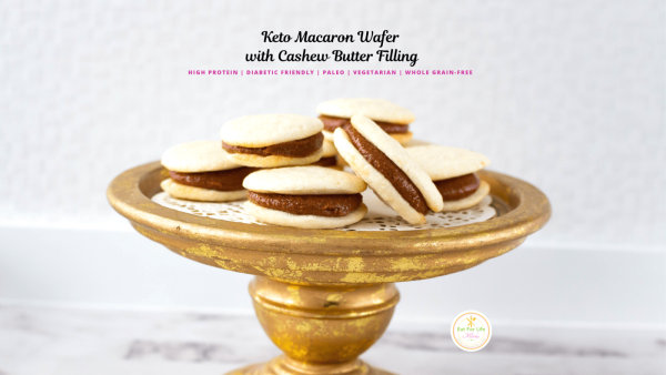 Image of Keto Macaron with Cashew Butter Filling