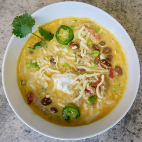 Image ofwhite chicken chili