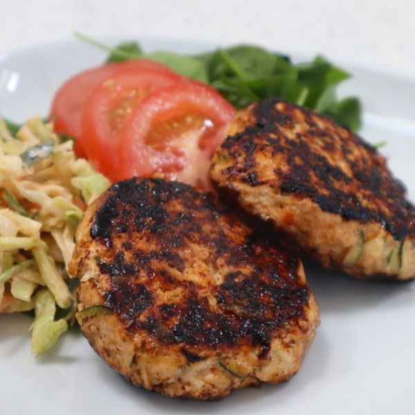 Image of Turkey & Mozzarella Burgers