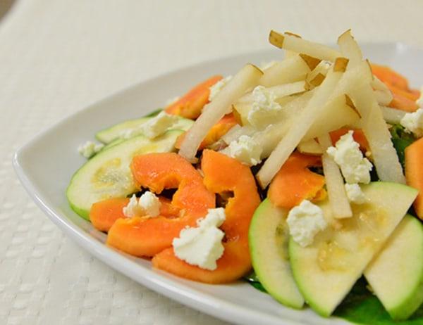 Image ofAsian Salad with Sweet and Sour Vinaigrette