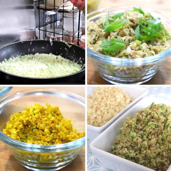 Image of Broccoli / Cauliflower Rice (6 ways)