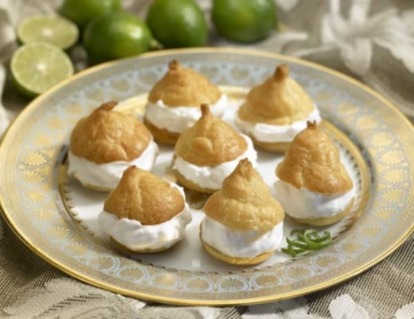Image of Key Lime Cream Puffs