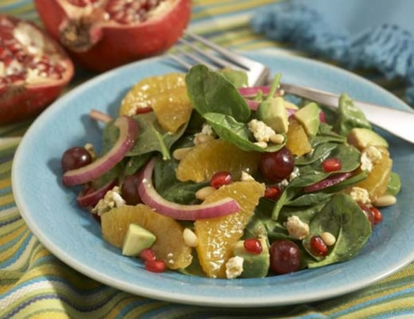 Image of Organic Spinach Salad