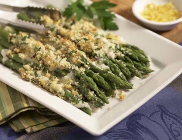 Image of Asparagus au Gratin