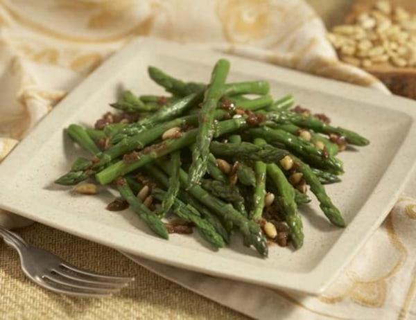 Image of Asparagus Salad with Pine Nut Vinaigrette