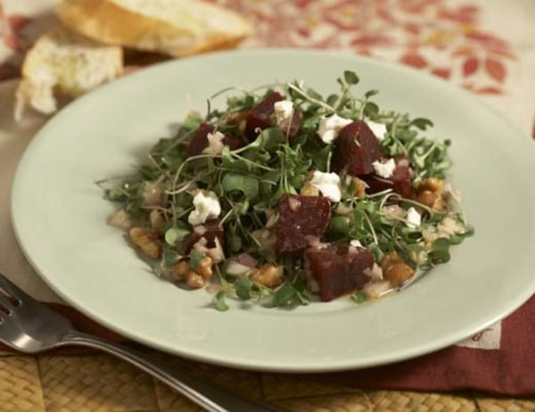 Image of Baby Beet Salad with Goat Cheese