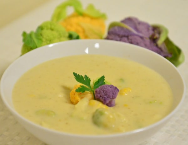 Image of Baby Cauliflower-Potato Cheese Soup