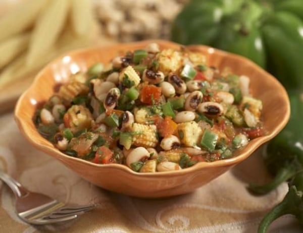Image of Baby Corn and Blackeyed Peas