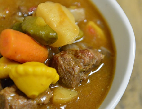 Image ofBaby Dutch Yellow Potato and Baby Vegetable Beef Stew