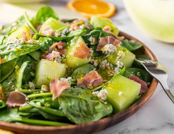 Image of Baby Spinach & Gaya Melon Salad