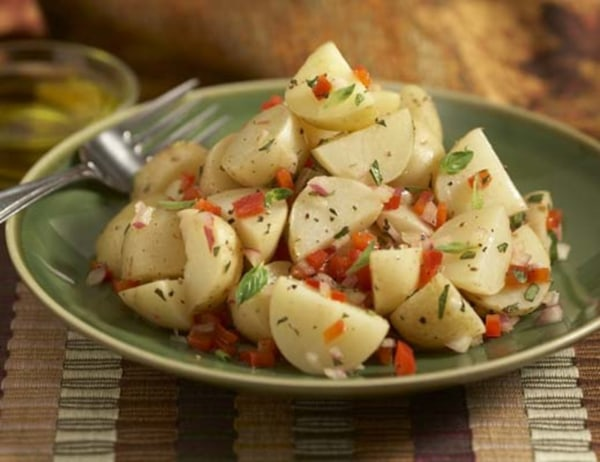 Image of Baby White Potatoes with Herbs and Lemon Olive Oil