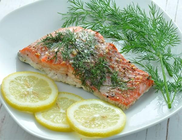 Image of Baked Fresh Salmon