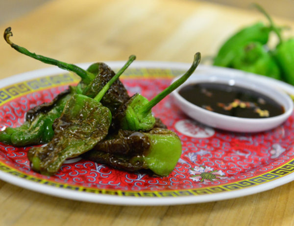 Image of Pan Seared Padron Chiles