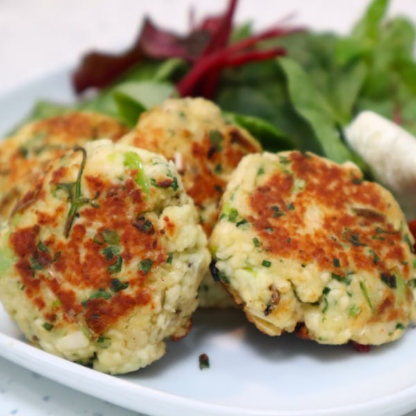 Image of Paneer & Coriander Fritters