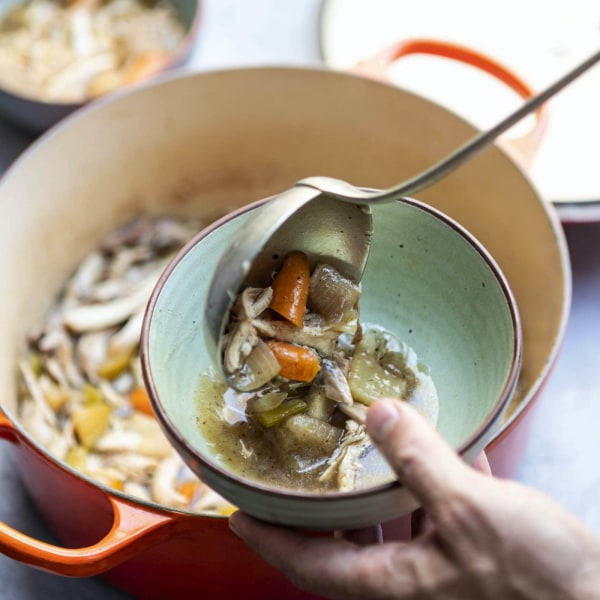 Image ofLimon Omani Roasted Chicken Soup with Celery Seeds