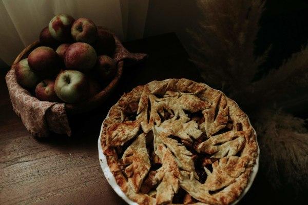 Image ofApfel Pudding Kuchen