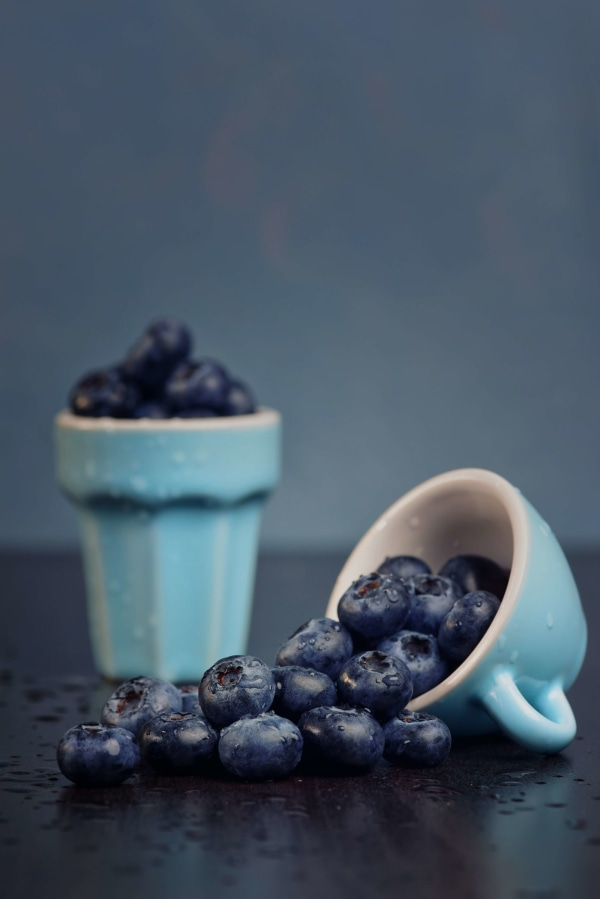 Image ofHeidelbeer-Raffaello Dessert