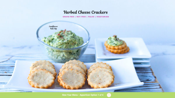 Image of Herbed Cheese Crackers