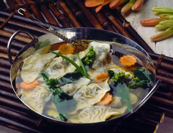 Image ofWonTon Soup with Gai Lan