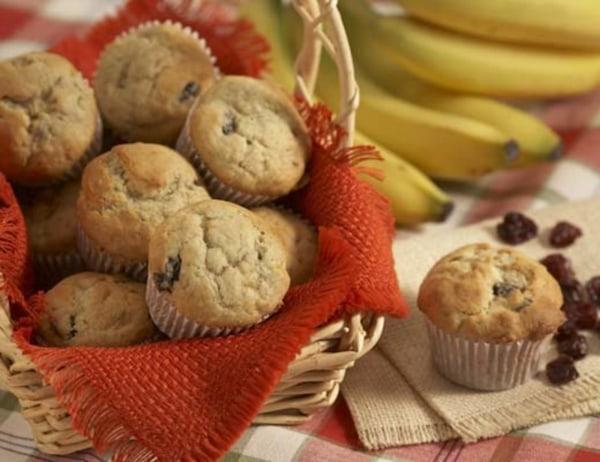 Image of Banana, Cherry, and White Chocolate Cupcakes