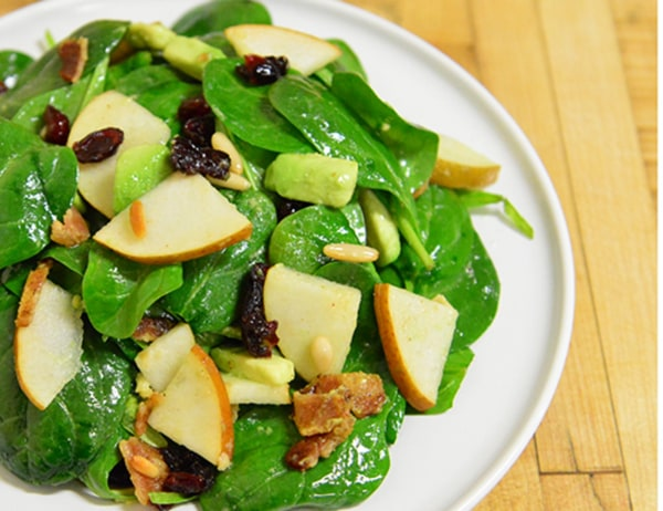 Image ofBartlet Pear and Spinach Salad