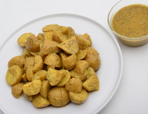 Image ofPassion Fruit and Caramelized Shallot Salad Dressing/Marinade