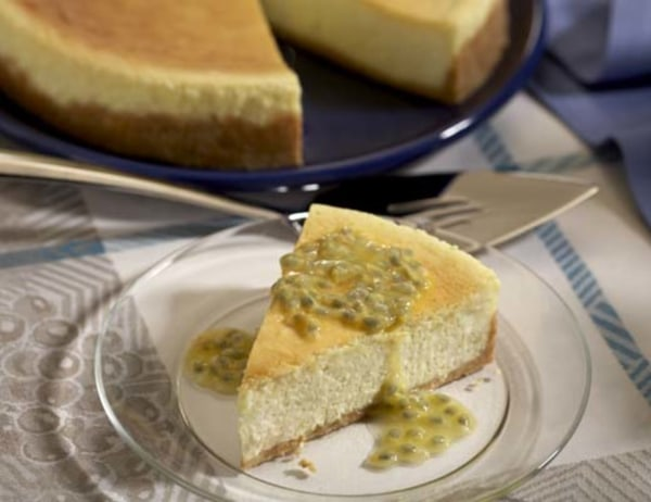 Image ofPassion Fruit Cheesecake