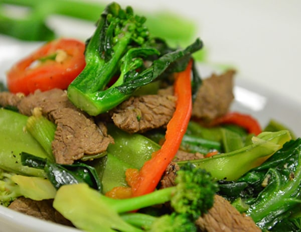 Image of Beef and Gai Choy Stir Fry