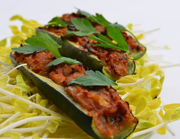 Image of Passover Baked Zucchini