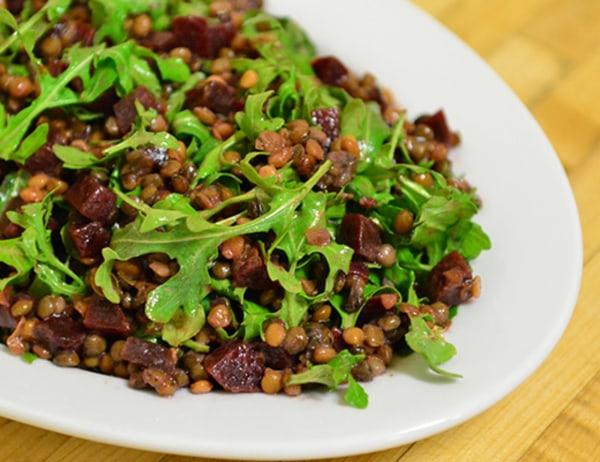 Image ofBeet and Lentil Salad