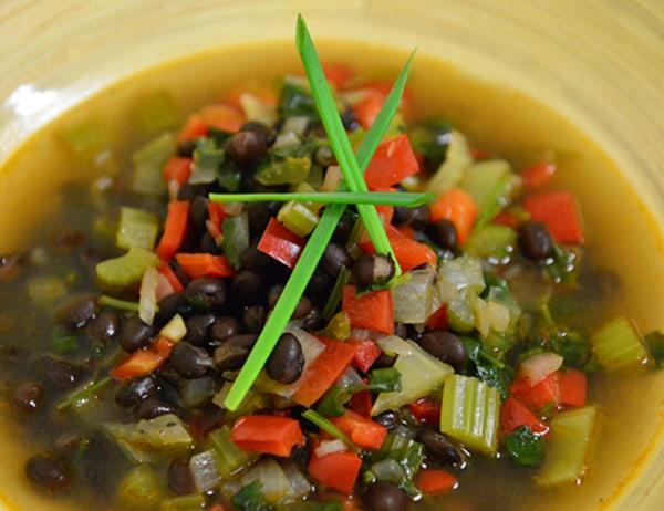 Image ofBlack Bean Soup (Sopa de Frijoles Negros)