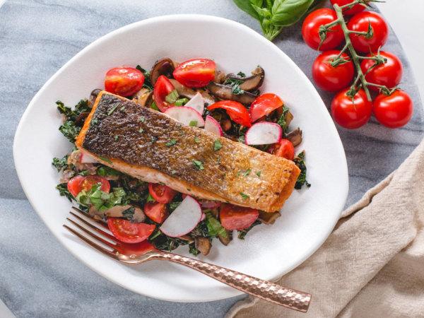 Image ofKeto Salmon & Veggies