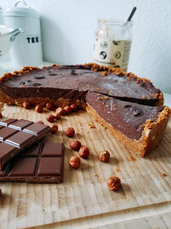 Schokoladentarte Rezept vegan