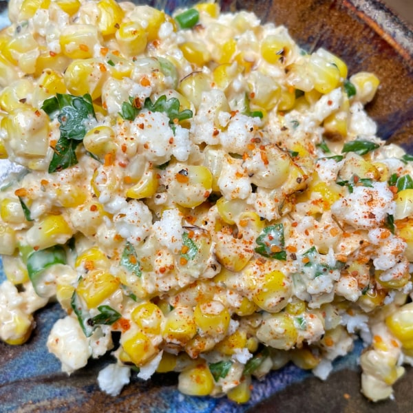 Image ofSorta White Elote Salad
