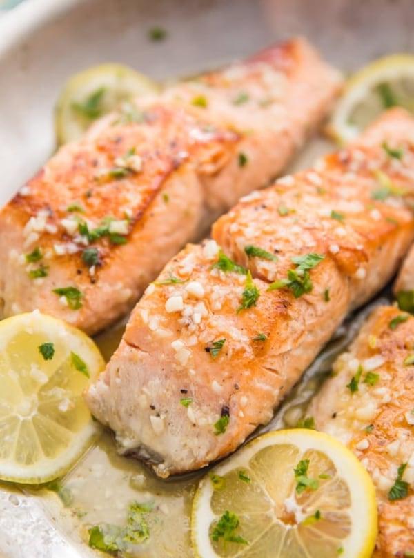Image ofPaleo & Keto Lemon Garlic Salmon