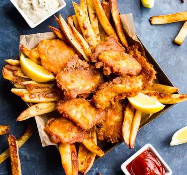 Image ofPaleo Fish & Chips