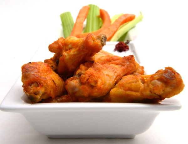 Image of  Wings with Ruby Hot Red Savina Dipping Sauce