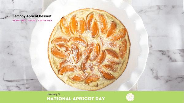 Image ofLemony Apricot Dessert