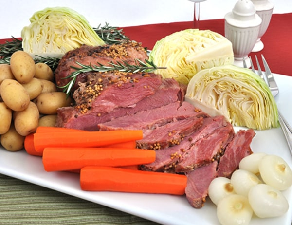 Image ofBraised Corned Beef with Cipolline Onions and Cabbage