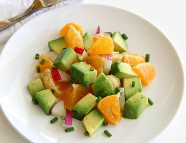 Image ofPixie Dust Salad with Avocados Pixie Tangerines and Radishes