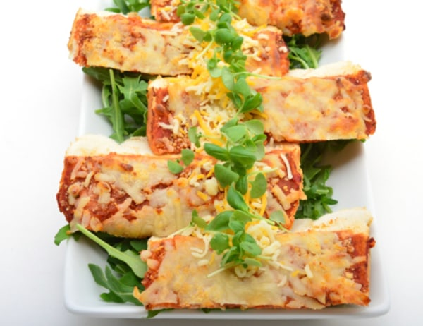 Image of Pizza Garlic Bread