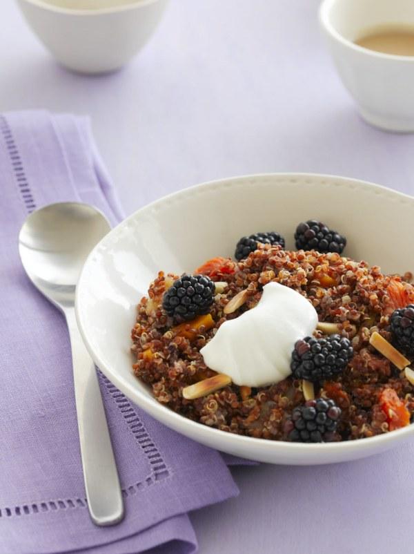 Image of Breakfast Quinoa with Blackberries